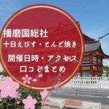 播磨国総社の十日えびすととんど焼き